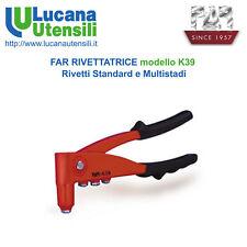 FAR RIVETTATRICE modello K39 Rivetti Standard Multistadi Fissaggio Professionale