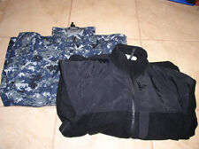 USN Navy NWU Digital Parka GoreTex Jacket  w/ Polartec Liner - Medium / Long