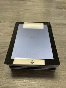 Job Lot 8 X Apple iPad 2nd Gen 16GB WiFi Tablet 9.7in -Black