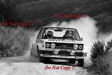 Walter Rohrl ALITALIA FIAT 131 Abarth Rally San Remo 1979 fotografia 9