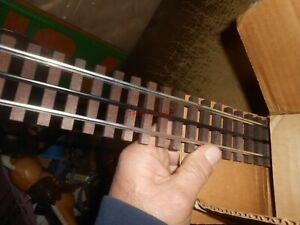 16 Pieces Gargraves Phantom Regular Straight 3 Rail Track Wood Ties
