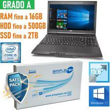 "Ordinateur Portable Nec Versapro I5 15,6 "" RS232 Windows 10 Pro Clavier Ita"