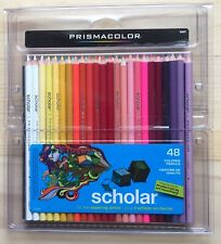 Prismacolor Scholar Colored Pencil Set of 48 Assorted Colors Brand New