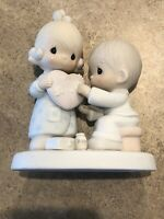 "Precious Moments - ""He's The Healer Of Broken Hearts"" - #100080 - 1986"