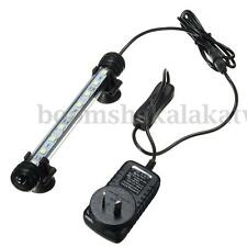 AU Plug Waterproof 5050 SMD Aquarium Fish Tank LED Light Lamp Bar White Blue
