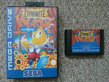 Sega Mega Drive Juego-Dynamite Headdy
