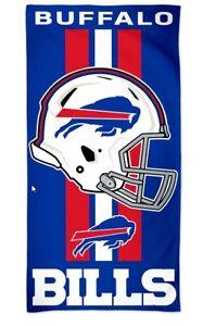 Buffalo Bills NFL Football Beach Towel Bath Towel Helmet