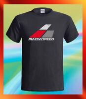 MAZDASPEED Logo Japan Racing Team Men's Black T-Shirt S M L XL 2XL 3XL