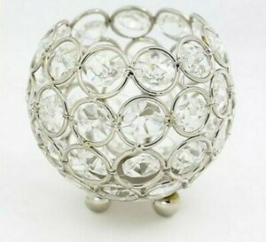 Crystal Ball Candle Holders Candelabra Metal Candles Stands Table Decoration New