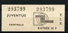 Netherlands 1969 Juventus Stamp Exhibition Ticket #A39798