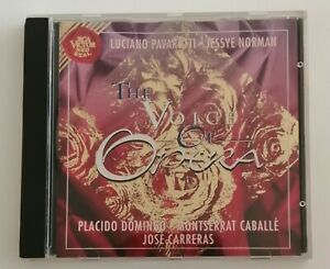 LUCIANO PAVAROTTI - JESSYE NORMAN - CD - THE VOICE OF OPERA - PLACIDO DOMINGO