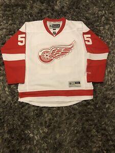 Niklas Kronwall- Detroit Red Wings- Reebok Away Jersey- Mens Large