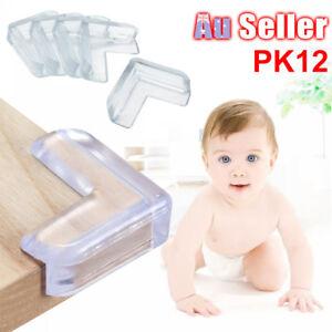 12pcs Table Corner Cushion Soft Protectors Baby Child Safety Guard Desk Edge