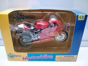 Maisto 1:18 Scale / Ducati 999s - Red - Model Motorbike