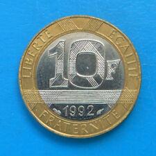 10 francs 1992 FRAPPE MEDAILLE cote SPL 50 FDC 70