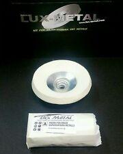 Kit 5 pre- lucidatura disco feltro 115 smerigliatrice angolare acciaio alluminio