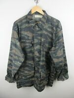 Australian Army Corp Mens Shirt Size L Long Sleeve Camouflage Button Up