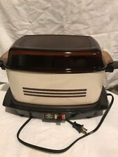 Vintage West Bend Cooker Plus Glass Lid Works Great