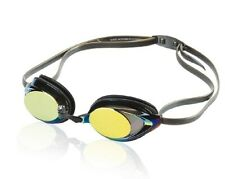 Speedo Competitive Vanquisher 2.0 Mirrored Adult Swim Goggle DEEP GOLD