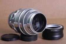 TAIR 11 2.8/135 KMZ M42 Lens Silver Russian + Sony E NEX for E-mount camera