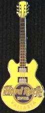 Hard Rock Hotel VALLARTA 2011 Yellow CORE GUITAR Series PIN 3 Strings HRC #69870