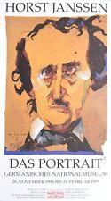 Horst Janssen Edgar Allen Poe poster stampa d'arte immagine 85x47cm