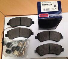 Borg & Beck brake disc pads set Fiat Ducato
