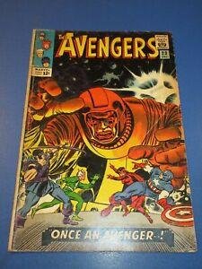 Avengers #23 Silver Age Kang Key VG+ Wow