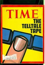 1974 Time Magazine: Watergate Scandal- Richard Nixon- Tale Of The Tape