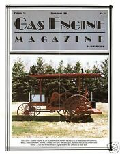 Aeromotor Windmill History, Sumter Magnetos, SD Gibson Tractor - 1989 Gas Engine