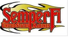 USMC MARINE CORPS SEMPER FI WINDOW CAR MILITARY DECAL