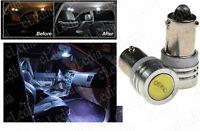 2 Ampoules LED SMD BA9s T4 Plafonnier habitacle lampe lecture veilleuses Blanc