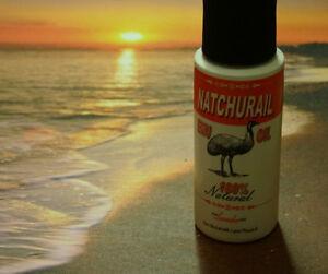 Natchurail 100% pure triple refined emu oil (AEA Certified) light lavender scent