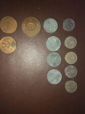 12 X Danmark Coins - Various
