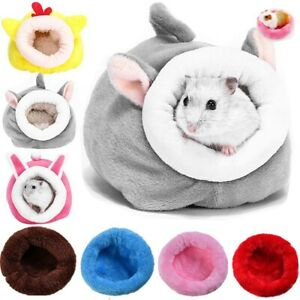 Cute Soft Hamster House Guinea Pig Accessories Hamster Cotton Nest Winter Warm