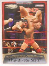 2008 TNA Wrestling Cross The Line Samoa Joe Vs Daniels Vs Styles SP Insert #/50