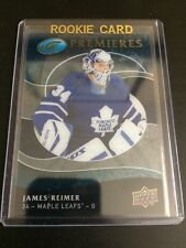 09-10 UD Upper Deck Ice James Reimer Rookie Card /1999 #114 Maple Leafs
