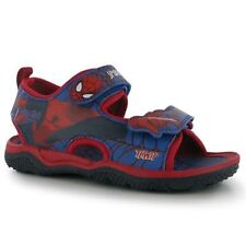 Spider-Man Sandals for Boys with Hook & Loop Fasteners