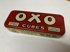 More details for vintage oxo tin, rare french canadian 10 cubes. excellent condition
