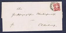 Dt. Reich Nr. 41 EF m. Schilling Stempel II/4/3 EG SF1 Fedderwarden sehr schön~⓰