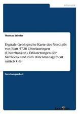 Digitale Geologische Karte des Nordteils von Blatt 5728 Oberlauringen...