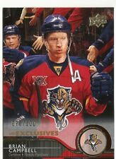 14/15 UD EXCLUSIVES /100 BRIAN CAMPBELL # 80