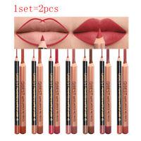 Wasserdicht Lange Lebensdauer Make -up Kosmetik Liner für Lip Matte Lipstick