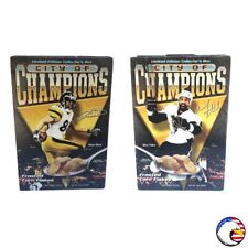 """City of Champions"" HINES WARD & MAX TALBOT Double Cover PLB Sports Cereal Box"