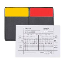 New listing New Champion Soccer Referee Officials 1 Red & Yellow Card, Score Card & Wallet