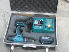 Makita BHP453 Cordless Drill Driver With Battery, Charger and case.