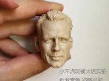 1/6 Scale Bruce Willis Head Sculpt John Mcclane Die Hard Kit Bashing unpainted
