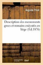 Description des monuments grecs et romains exec, PELET-A,,
