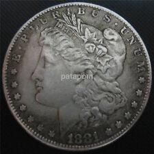 USA United Morgan Dollar $1 1881 Silver Coin Collection Antique Dollar UK
