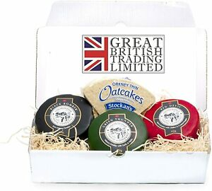 Snowdonia Cheese Hamper - Black Bomber, Red devil, Green Thunder and Oatcakes